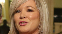 Outrage: Michelle O'Neill