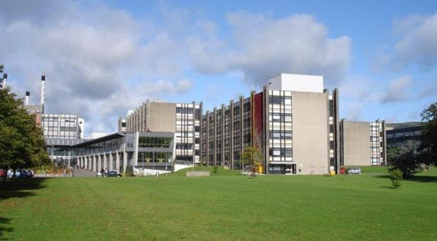 Ulster University's campus at Jordanstown