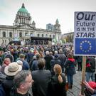 Rally for Remain at Belfast City Hall on Saturday