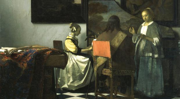 The Concert by Dutch painter Johannes Vermeer is one of the artworks thought smuggled by James 'Whitey' Bulger