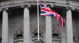 The woman has challenged the flying of the Union flag at courthouses and government buildings