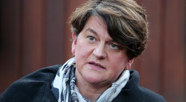 Arlene Foster had a phone call with Theresa May on Monday afternoon
