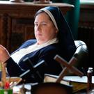Siobhan McSweeney as Sister Michael on Derry Girls
