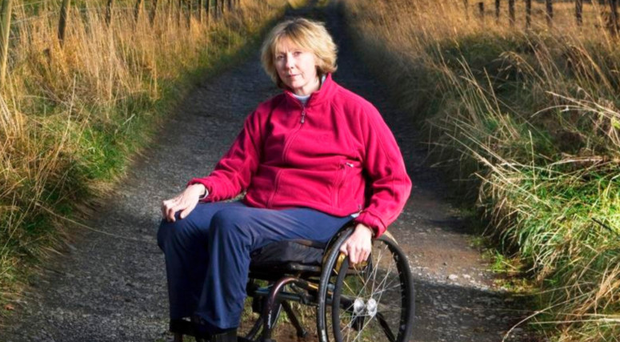 Melanie Reid, who became tetraplegic after being thrown from her horse