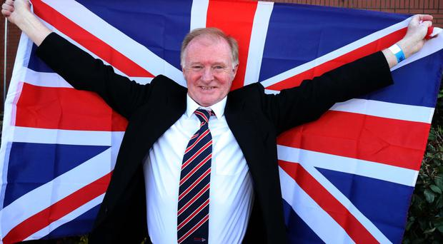 Coleraine PUP councillor Russell Watton