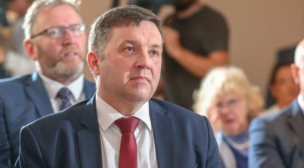 Ulster Unionist Party leader Robin Swann