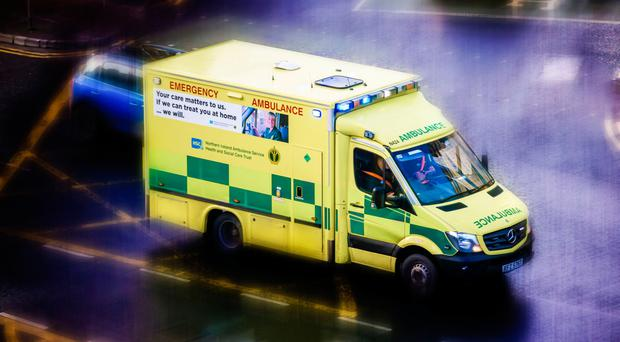 'Our Ambulance Service and its dedicated and caring staff need a lifeline to help them do their jobs properly' (stock photo)