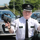 PSNI Superintendent Gerry Murray at a road safety launch