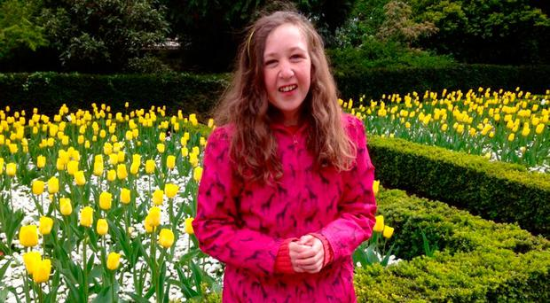 Nora Quoirin pictured in spring months before her death in Malaysia