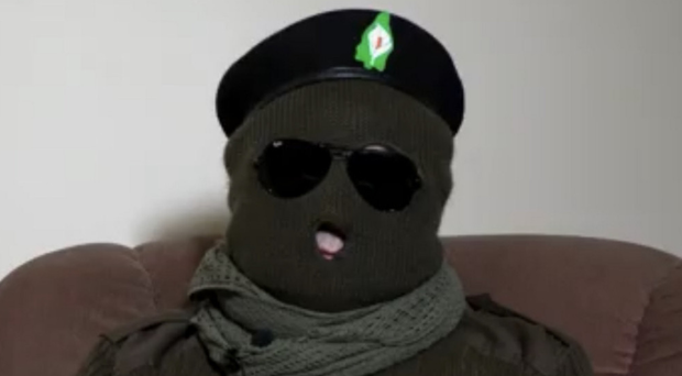 The Continuity IRA member who appeared on Swedish TV