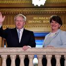 Prime Minister Boris Johnson and DUP leader Arlene Foster