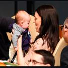 New Zealand's PM Jacinda Ardern took her baby daughter Neve to the general assembly of the UN