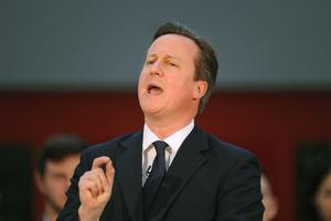 David Cameron announced the planned new powers in Canberra