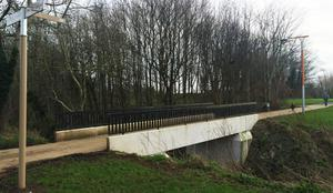Existing bridge at Greenville Park to Orangefield Park