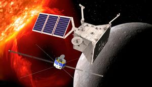 Launch: The BepiColombo orbiters