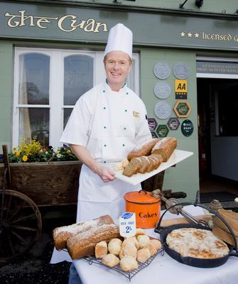 Lifestyle change: Peter McErlean outside The Cuan hotel and restaurant on Strangford Lough