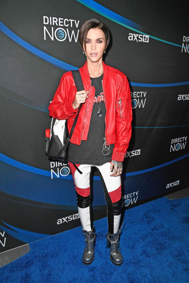 Ruby Rose who plays Ares