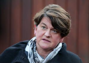 Arlene Foster met with Theresa May following her Commons statement