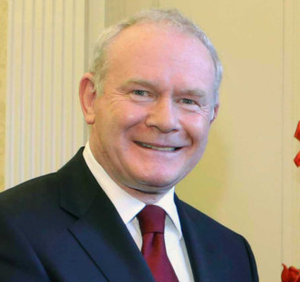The late Deputy First Minister Martin McGuinness