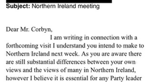 Extracts from the emails show the correspondence between the Labour Party and the DUP's Gregory Campbell