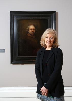 Anne Stewart, curator of fine art at National Museums NI