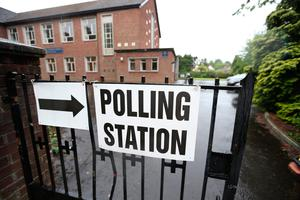 A number of posters have been stolen ahead of May's council elections