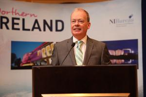 Norman Houston says there is lots of good news to share about Northern Ireland