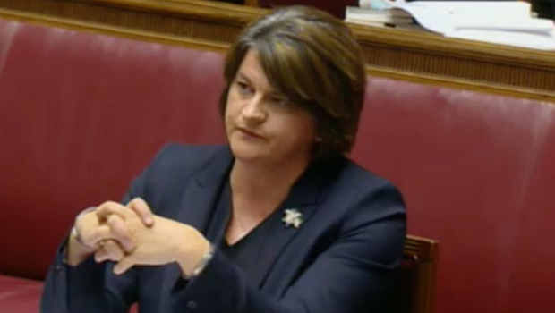 DUP leader Arlene Foster at the RHI Inquiry