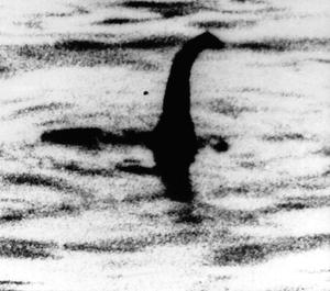 Famous image of 'Loch Ness Monster', that was later proved a fake
