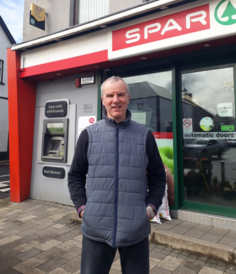 Hugh Graham is coming to terms with what's happening in Bellaghy