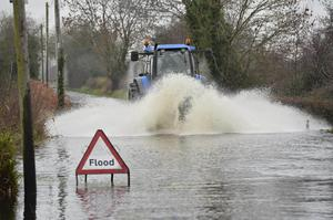 Flooding near Portadown