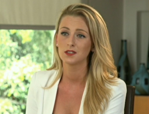 Michaella McCollum Connolly pictured during an interview with RTE in 2016 after being released on parole from a Peruvian prison