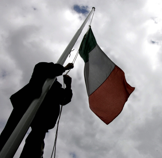 The inclusive nature and representative meaning of the three colours of the Irish flag was the main argument put forward for retaining the tricolour