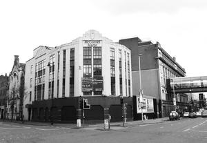 The neighbouring Metropole building
