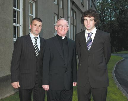 Head teacher Fr Kevin Donaghy of St Patrick's Grammar, Armagh