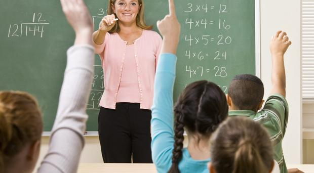 Stormont plans to cut 1,000 teachers and 1,500 support staff posts. Picture posed