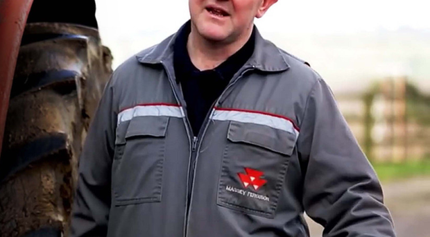 Wallace Gregg in the farm safety video