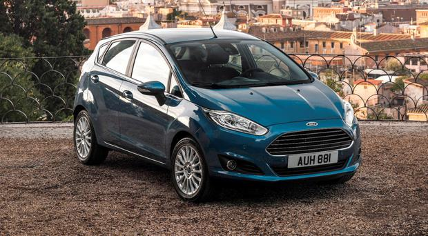 The Ford Fiesta - Northern Ireland's most popular new car in 2016