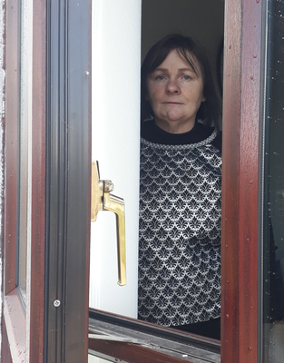 Marietta Duffin is coming to terms with what's happening in Bellaghy