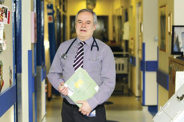 Dr Brian Craig from the Royal Belfast Hospital for Sick Children has treated hundreds of babies for nearly 30 years