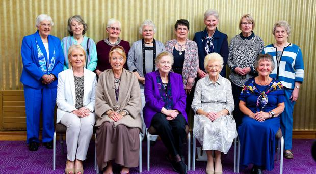 Together again: the nurses meeting 60 years on at the Stormont Hotel in Belfast