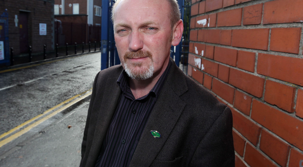 Ray Rafferty, from Unison based in the RVH site