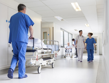 Nurses in Northern Ireland may be set to consider industrial action short of strikes. Stock image