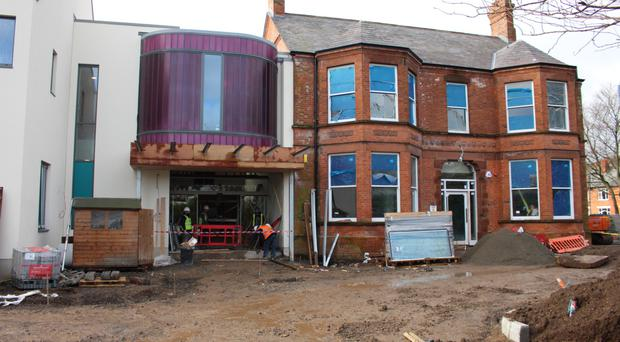 Work continues at the Somerton Road site