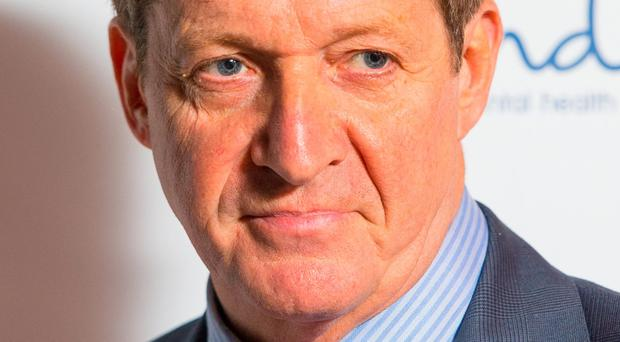 Health plea: Alastair Campbell