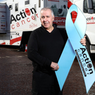 Action Cancer's Big Bus driver Leonard Brereton