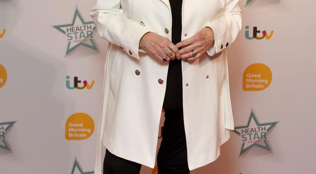 NI-born television and radio presenter Gloria Hunniford arrives at the Good Morning Britain Health Star Awards