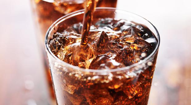 High in calories: sugary drinks