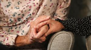 Regular testing for all asymptomatic care home visitors is being introduced (Andrew Matthews/PA)