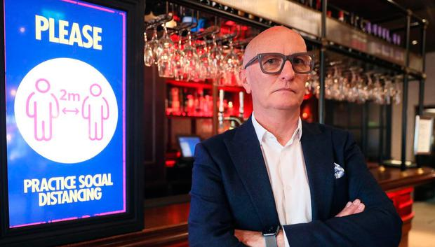 Colin Neill, Chief Executive of Hospitality Ulster. (Brian Lawless/PA)